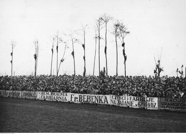 Przed II wojną światową kibice w Krakowie chwytali się różnych sposobów, by móc oglądać mecze