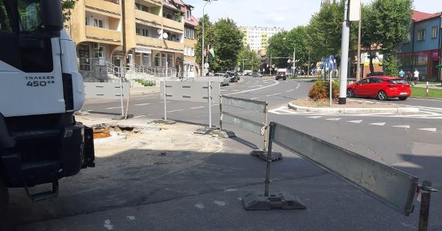Ulica Sienkiewicza już zamknięta dla ruchu
