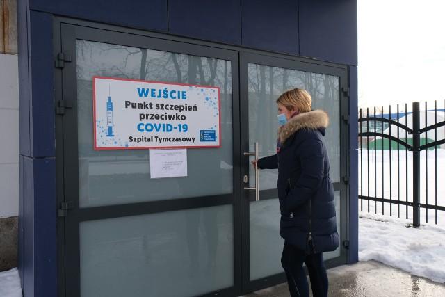 Szpital tymczasowy na hali UMB znowu będzie punktem szczepień.