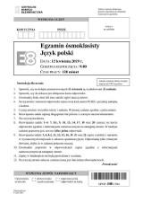 Egzamin ósmoklasisty 2019. Język polski, arkusz egzaminacyjny CKE