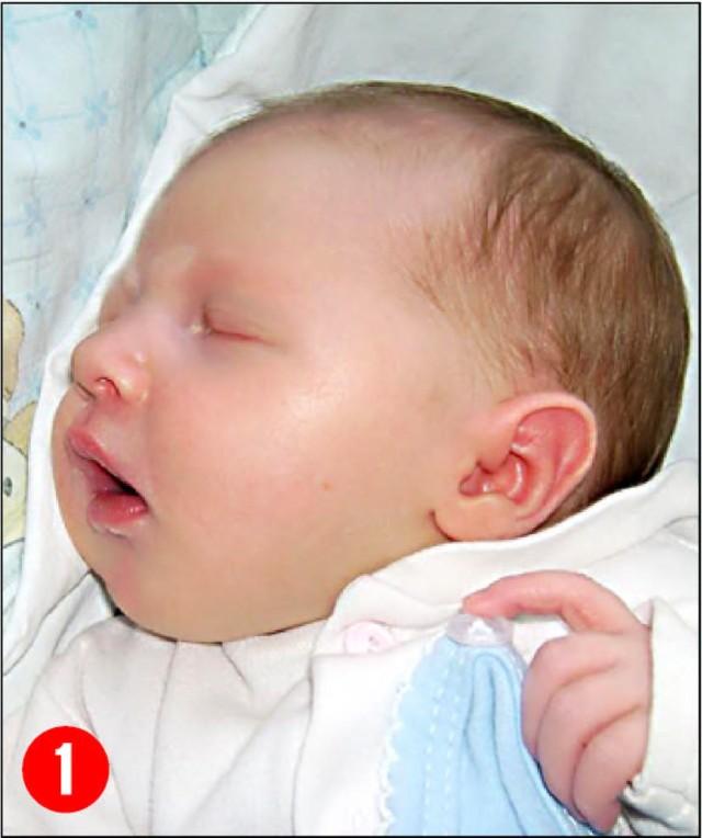 1. Amelia Stypinska, córka Joannyi Bogdana z Czarnostowawazyla 3250 g i mierzyla 57 cm. Przyszlana świat 9 stycznia.