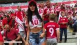 """Kto miss mundialu 2018 w Rosji? [ZDJĘCIA] Karolina Emus chce być jak polskie WAGs, dziewczyny piłkarzy! Kim jest """"nowa Natalia Siwiec"""""""