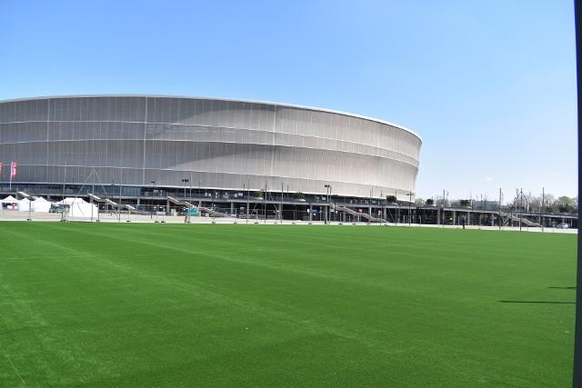 Nowe boisko pod Stadionem Wrocław.
