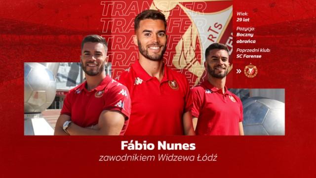 Fabio Nunes jest nowym widzewiakiem