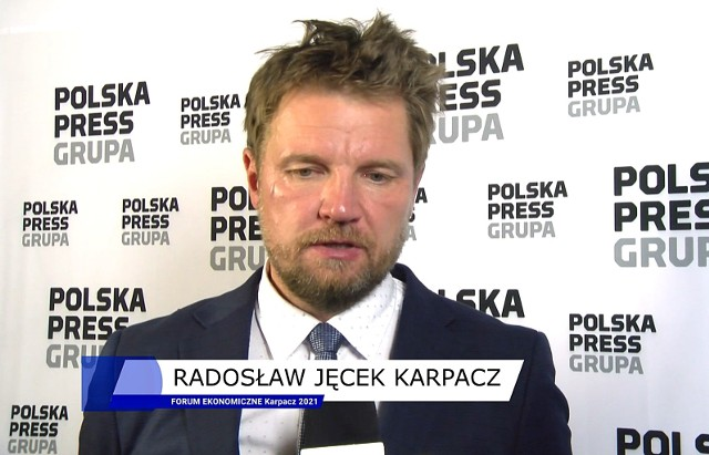 Radosław Jęcek, burmistrz Karpacza, mówi o tym co miasto zyska na Forum Ekonomicznym