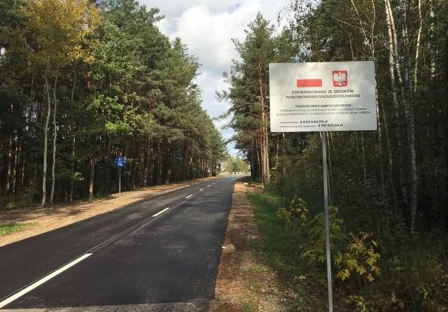 Zakończona inwestycja na ulicy Książek Majdowski.