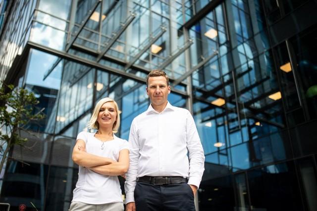 Magdalena Hennig, Executive Consultancy Manager i Grzegorz Pyzel, Vice President Poland w 7N