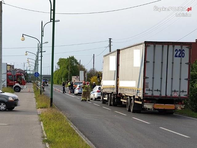 Do wypadku doszło 18 maja na ulicy Oleskiej w Lublińcu