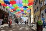 Kolorowe parasolki w Inowrocławiu już są. W sobotę Art Ino Festiwal [zdjęcia]