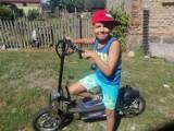Chory Oliwer z Nowej Wsi marzył o elektrycznej hulajnodze. Na pomoc czekają kolejne dzieci