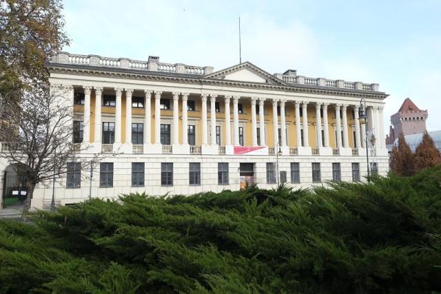 Biblioteka Raczyński w Poznaniu.