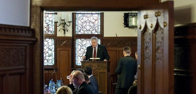 Prezydent Słupska chce emisji obligacji miejskich.