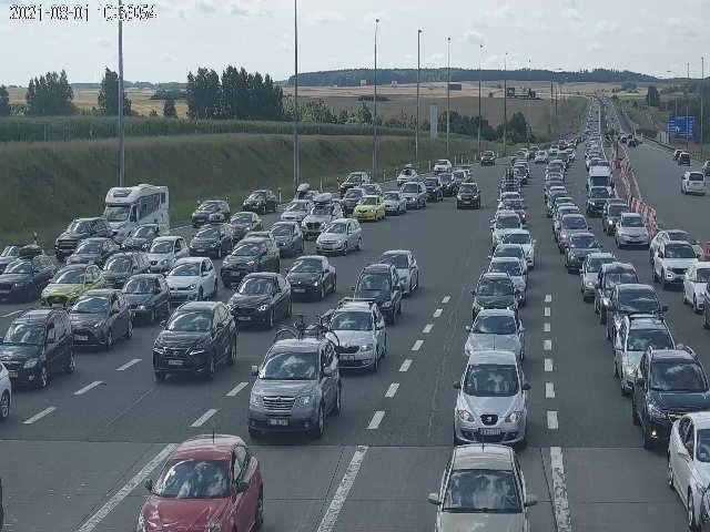 Bramki na A1 Rusocin 1.08.2021