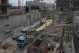 Budowa Muzeum Śląskiego na terenie dawnej kopalni Katowice. Oto plac budowy w Bogucicach wiosną 2011, 2012 i 2013. Archiwalne zdjęcia