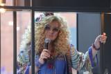 Magda Gessler w Manufakturze. W sobotę była na otwarciu strefy Qulinarium i gotowała na żywo dla programu Dzień Dobry TVN