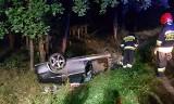 Wypadek na drodze krajowej nr 11 na trasie Koszalin - Bobolice ZDJĘCIA