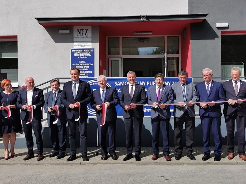 W wydarzeniu uczestniczyły władze wojewódzkie oraz samorządowcy powiatu zwoleńskiego.