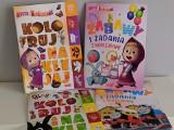 """Serie """"Koloruj i naklejaj"""" oraz """"Zabawy i zadania z naklejkami"""" rozwijają umiejętności dziecka"""