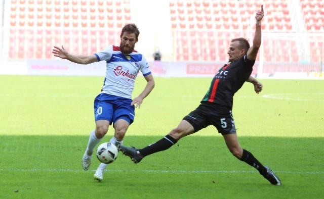 Po dwóch bramkach zdobytych w Suwałkach Valerijs Sabala objął prowadzenie w klasyfikacji strzelców pierwszej ligi