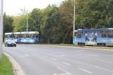 Wrocław: Tramwaje cudem uniknęły czołowego zderzenia
