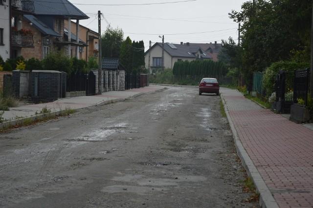 Ulica Zamkowa w Proszowicach