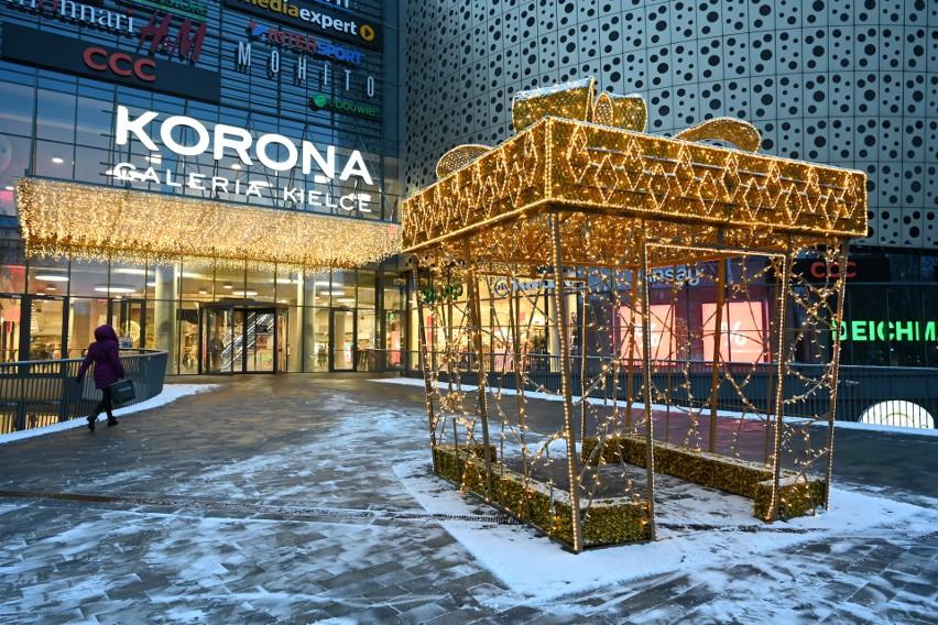 W Galerii Korona Kielce trwają świąteczne i zimowe...
