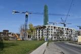 Epidemia nie wstrzymała prac na placach budów. Największe inwestycje mieszkaniowe w Łodzi