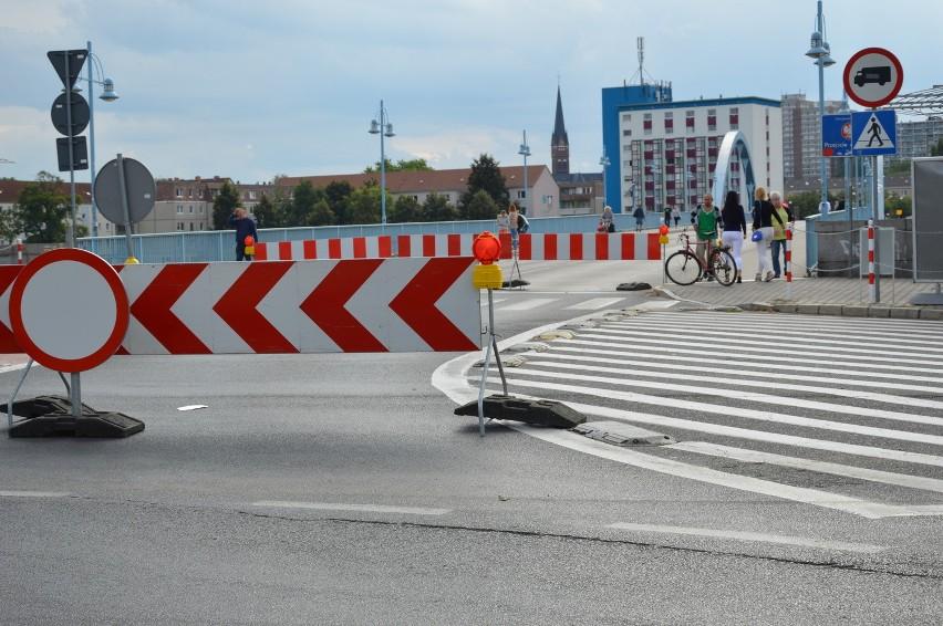 Słubiczanie drogę do Frankfurtu muszą pokonać pieszo lub na rowerach