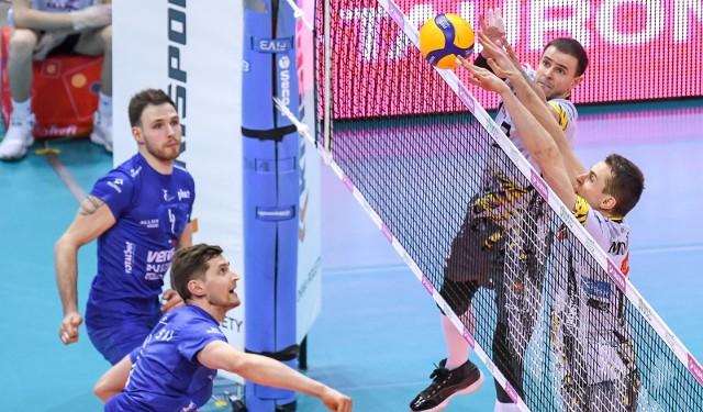 Trefl Gdańsk remisuje 1:1 z Vervą Warszawa w ćwierćfinale PlusLigi