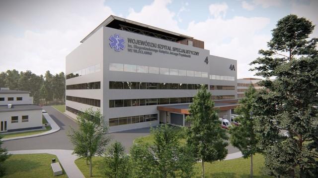Tak, po przebudowie, wyglądać ma Wojewódzki Szpital Specjalistyczny we Włocławku