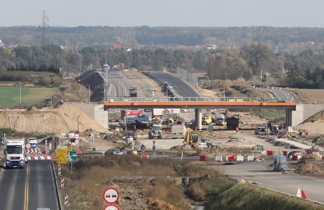 Budowa drogi pod Legnicą