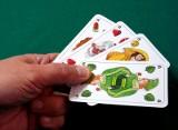 Powiat mikołowski jest na kartach do gry w skata. To unikatowa talia kart