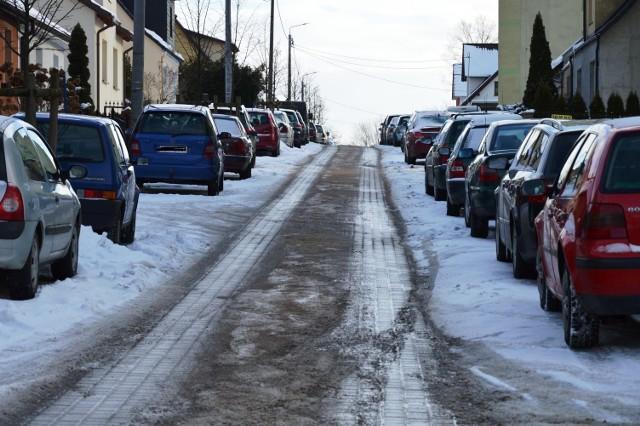 Mieszkańcy ulicy Pogodnej chcą spowalniaczy.