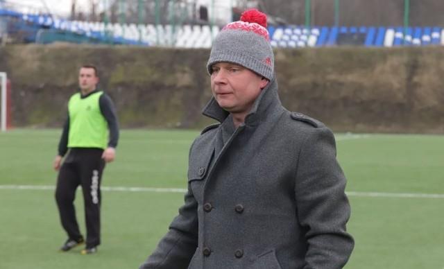 Trener Jarosław Maćczak