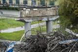 Inspektor gromi wykonawcę i miasto za błędy przy rozbiórce wiaduktu
