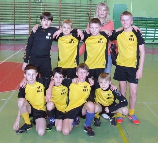 Turniej piłkarski szkół podstawowych w Miastku o puchar komendanta policji