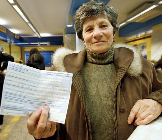 - Nareszcie jakaś dobra wiadomość dla emerytów – cieszy się pani Anna z Łukawca, którą spotkaliśmy na poczcie w Rzeszowie.