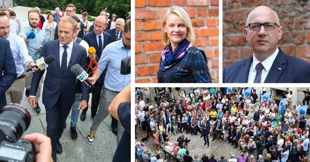 Wizyta D. Tuska w Szczecinie - komentują polityczni konkurenci