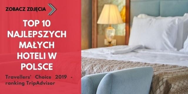 Dwa hotele z województwa kujawsko-pomorskiego znalazły się w czołówce rankingu TripAdvisor za rok 2019 w kategorii małych hoteli. Travellers' Choice to ranking TripAdvisor, który powstaje na podstawie opinii turystów. Zobacz TOP 10 najlepszych hoteli w Polsce na kolejnych slajdach! >>>