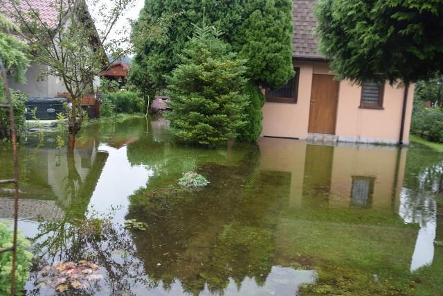 Tychy po ulewach - piątek rano, 6 sierpnia 2021