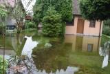 Działki w Tychach zalane. W ogródkach  jeziora. Zobaczcie zdjęcia