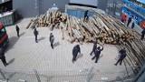 Wielka awantura w Czudcu z udziałem 60 ochroniarzy, 44 policjantów i skłóconej rodziny [WIDEO]