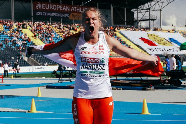 Klaudia Kardasz wywalczyła w Bydgoszczy srebrny medal.
