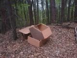 Powiat myślenicki. W lasach i nie tylko rosną góry śmieci. To też jak epidemia...