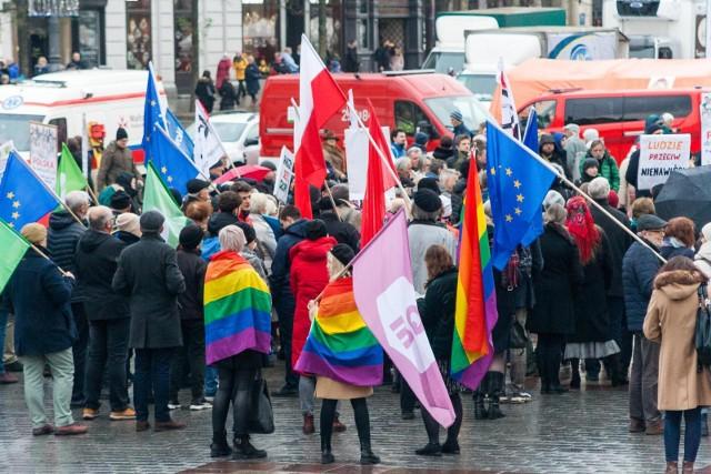 """Grudniowy marsz """"Polska dla wszystkich"""" środowiska LGBT"""