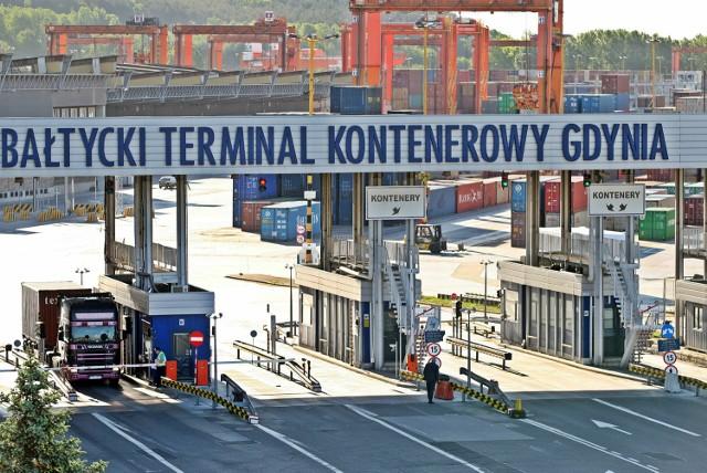 Bałtycki Terminal Kontenerowy w Gdyni