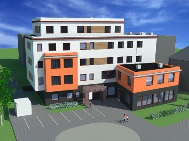 Tak budynek Centrum Medycznego Dolina Silnicy ma wyglądać w połowie przyszłego roku