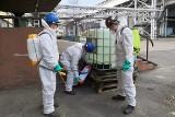 Polska Grupa Górnicza produkuje własny płyn do dezynfekcji. Walka z koronawirusem będzie łatwiejsza. Płyn powstaje w kopalni Ziemowit