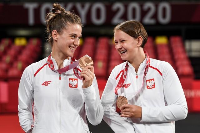 Natalia Partyka i Karolina Pęk wywalczyły w Tokio złote medale w grze drużynowej.