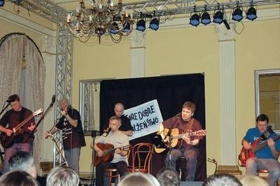 Zespół Stare Dobre Małżeństwo koncertował w Wieliczce trzy godziny Fot. archiwum CKiT Wieliczka